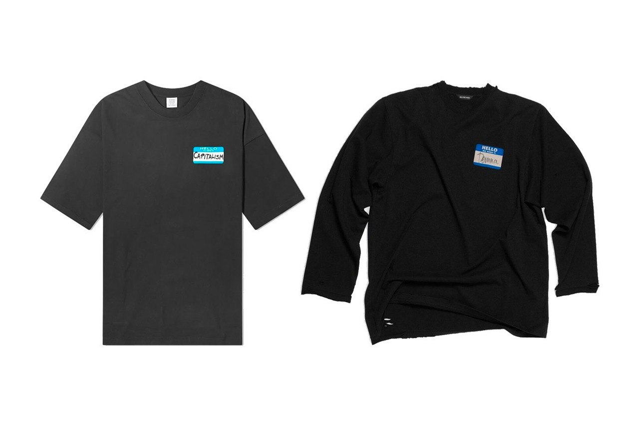 Balenciaga of Stealing T-Shirt Design