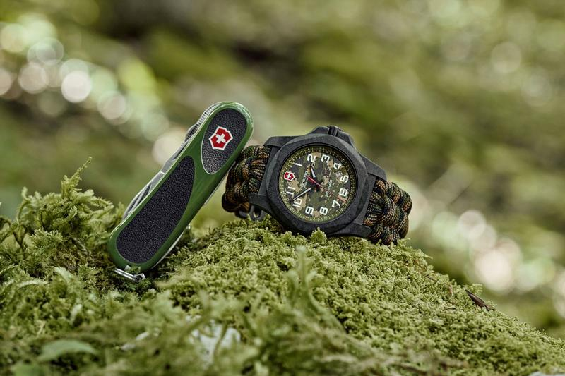 victorinox swiss army knives inox carbon composite limited edition camouflage print watch timepiece