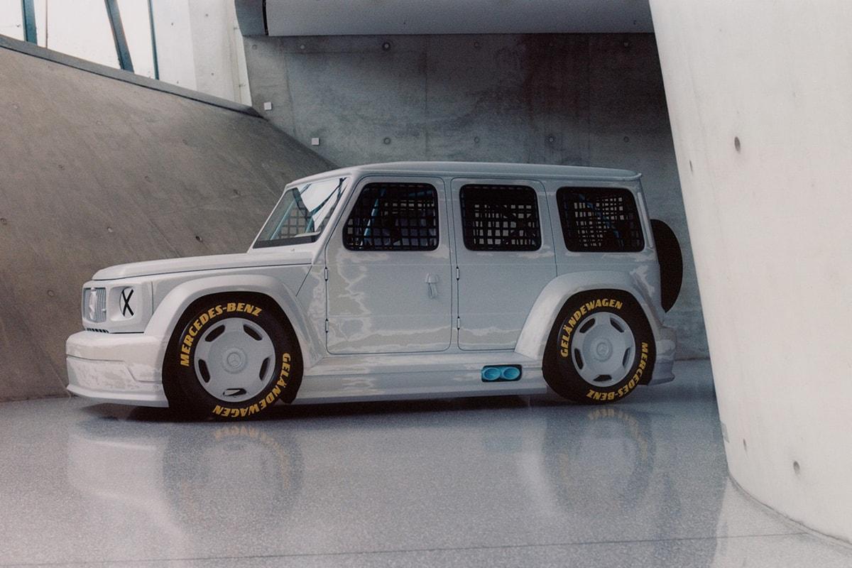 Virgil Abloh's Mercedes-Benz G-Class Needs To Do a U-Turn
