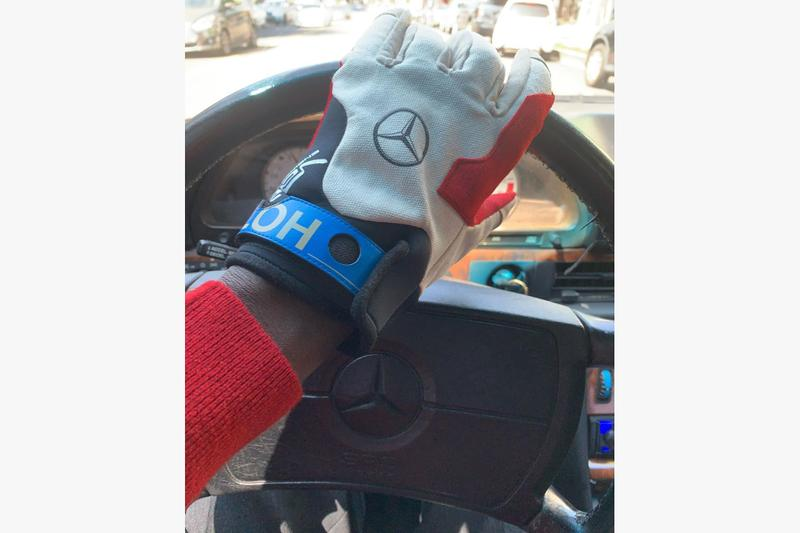 A$AP Nast Gifts Virgil Abloh Mercedes-Benz Racing Gloves G-Wagon S class racing style fashion ASAP NAST Instagram Classic cars
