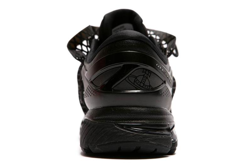 vivienne westwood asics gel kayano 26 black mesh 1021A320 001 official release date info photos price store list buying guide sex and the city carrie bradshaw sarah jessica parker