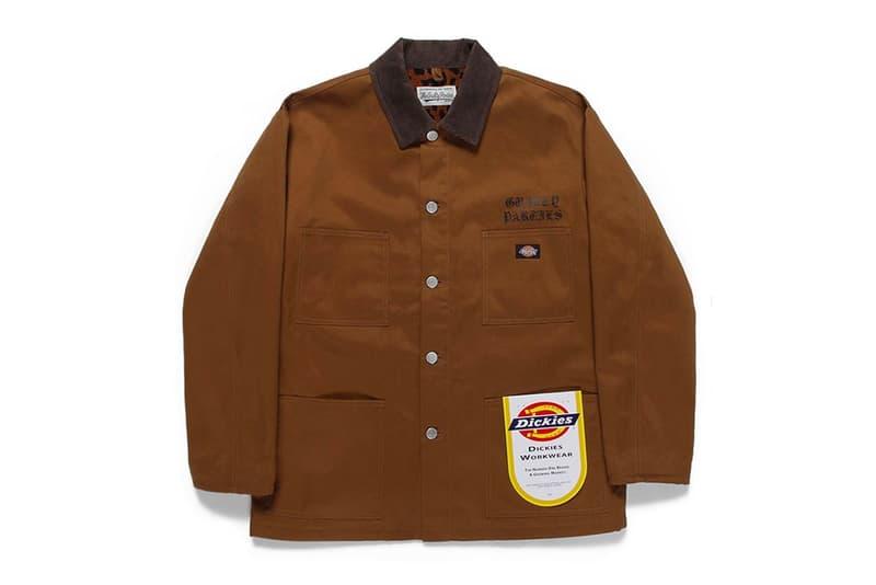 WACKO MARIA Dickies 2020 Workwear Capsule menswear streetwear chore coat jacket pants trousers ss20 spring summer collection