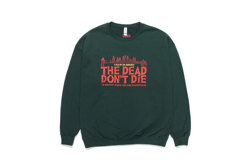 WACKO MARIA Jim Jarmusch THE DEAD DONT DIE Capsule menswear streetwear spring summer 2020 collection ss20 graphics