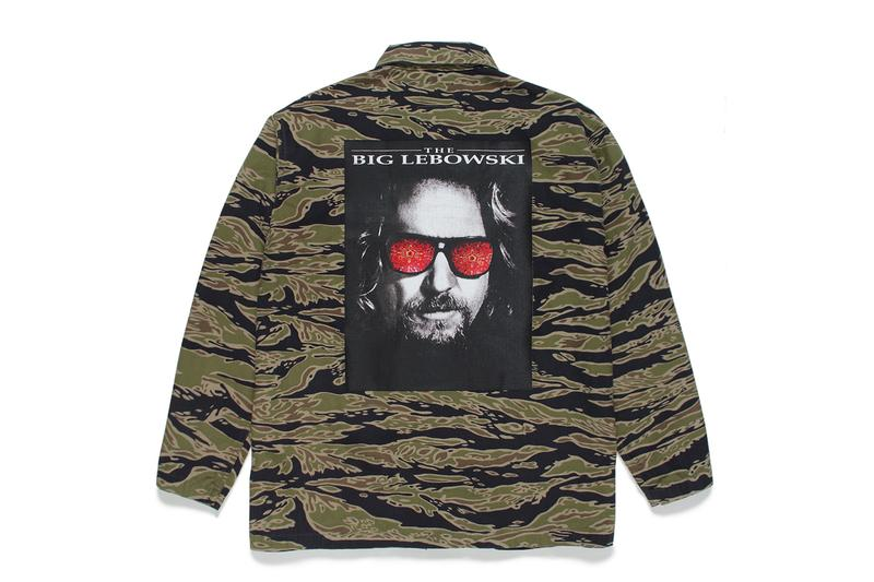 WACKO MARIA The Big Lebowski 2020 Capsule menswear streetwear coen brothers films movies the dude comedy jeff bridges cult 1998 jackets t shirts sweaters