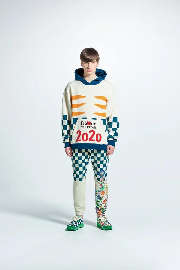 Walter Van Beirendonck for Flower Mountain FW20 fall winter 2020 collection collaboration sneaker tights hiking trek adventure tee shirt hoodie sweater japan buy release date