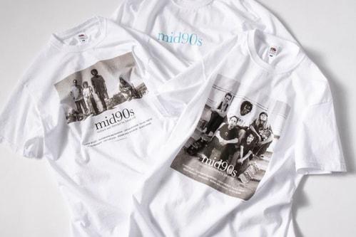 Vintage Store Weber Drops 'mid90s' T-Shirt Capsule