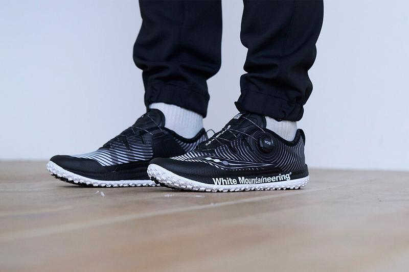 White Mountaineering x UGG, Saucony FW20 Collaboration footwear fall winter 2020 sneakers grid web switchback boot mouton miwo