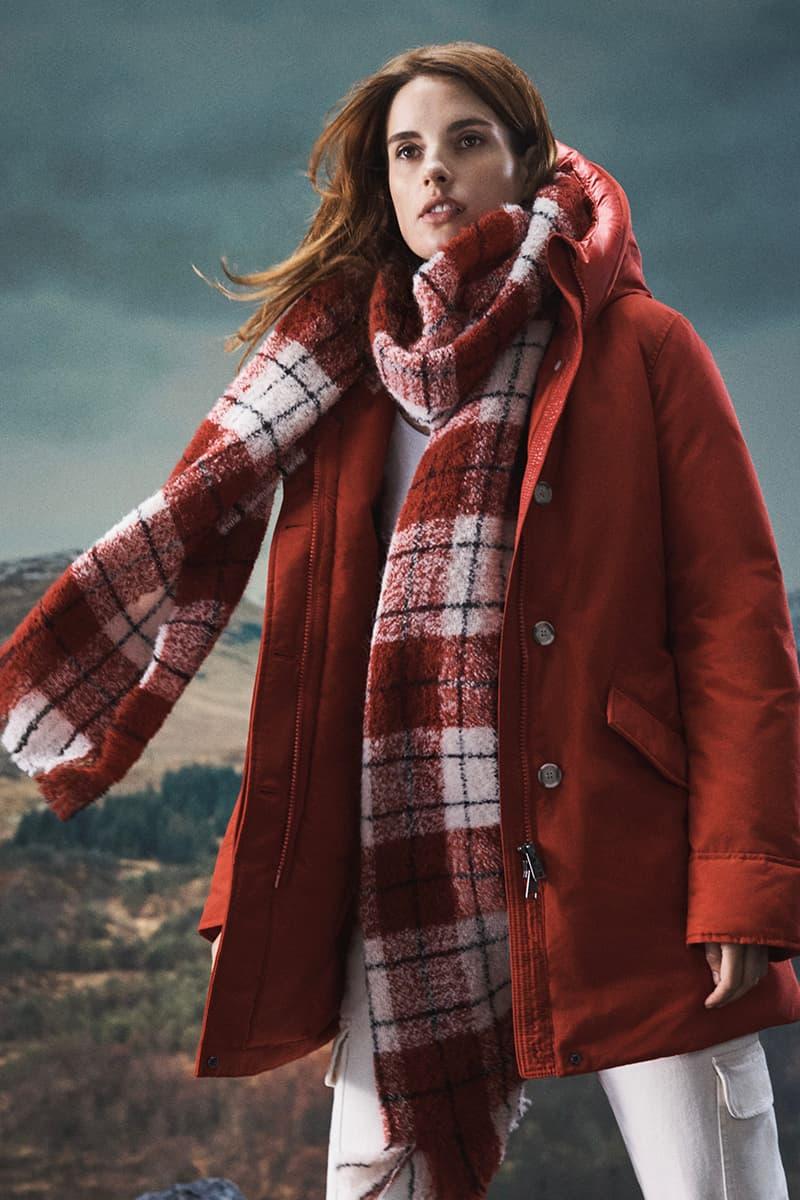 Woolrich Fall Winter 2020 Lookbook menswear streetwear fw20 collection jackets sweaters pants trousers slacks shirts knitwear