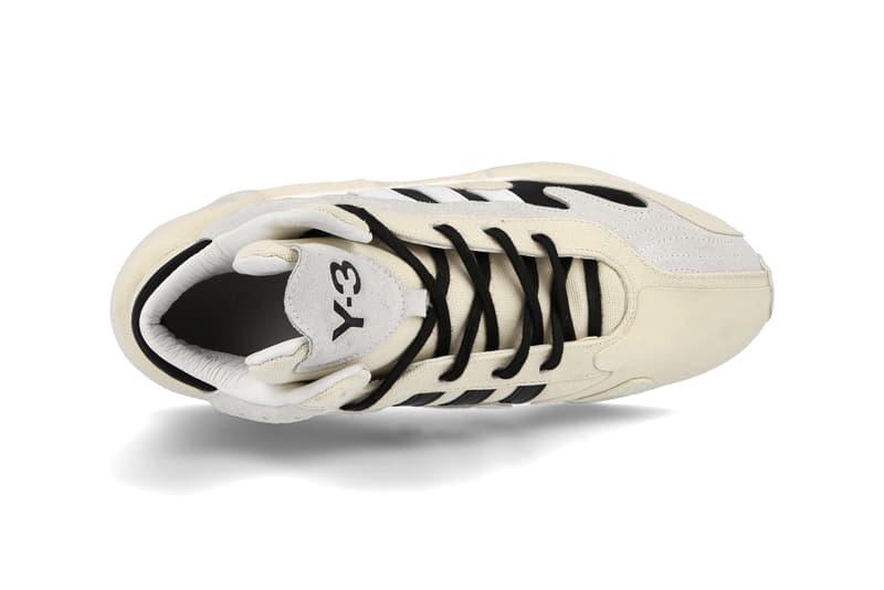 "Y-3 FYW S-97 II ""Black/Footwear White"" ""Chalk White/Bold Blue/Ecru Tint"" FX1329 FX1328 Sneaker Release Information Adidas Yohji Yamamoto Footwear Collaboration Division Line Hoops Runner Feet You Wear BOOST Three Stripes Mid Top High Cut"