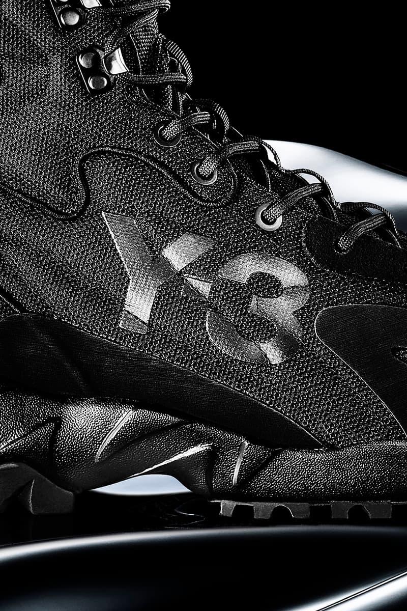 y-3 adidas fall winter 2020 yohji yamamoto technical boot notoma black night grey beige khaki fox orange release details primaloft