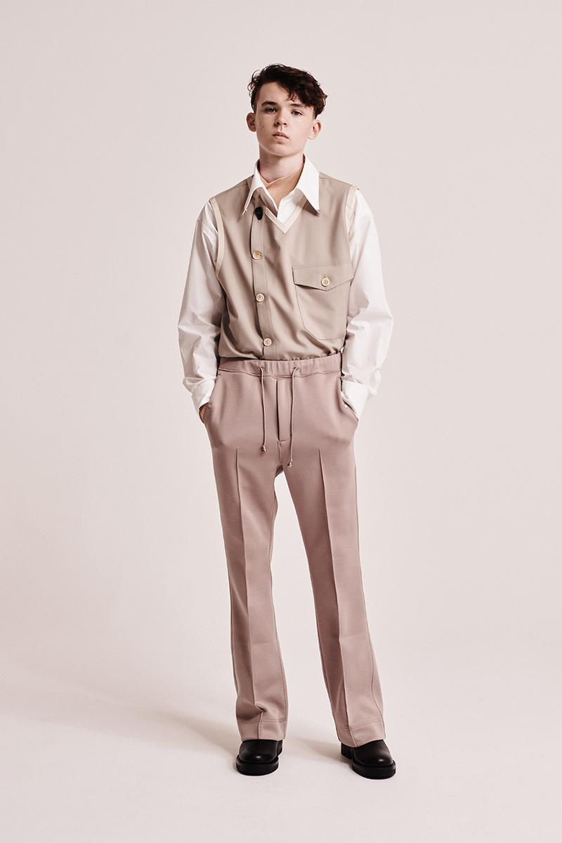 y.o.n. yon japanese label spring summer 2021 collection 2020 taupe collection tailoring release information