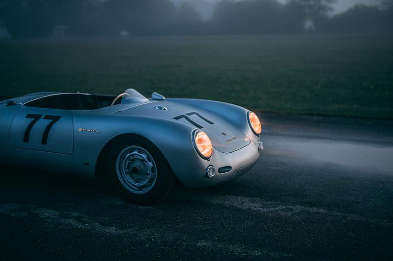 1955 Porsche 550 Spyder Auxietre & Schmidt For Sale Million Euro Classic Sportscar Supercar Rare Limited Edition Restored Vintage Racer German Engineering  Alex Schiller Film Automotive History Purchase Power Speed Performance Stats Figures Price