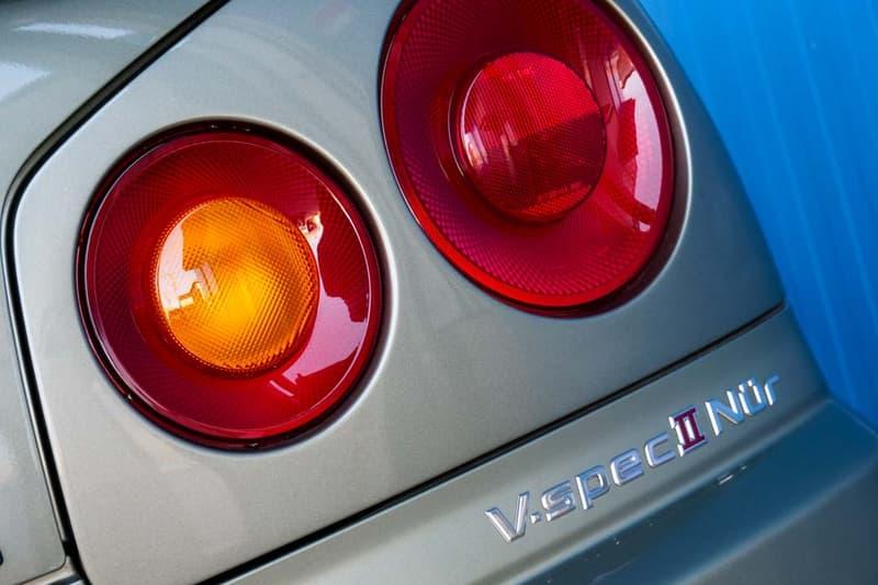 2002 Nissan Skyline GT-R V-Spec II Nur R34 JDM Millennium Jade For Sale $485000 USD Half Million Dollars Japanese Tuner Car Sportscar Classic Paul Walker Listing Buy Limited Edition Rare Japan Automotive Low Milage