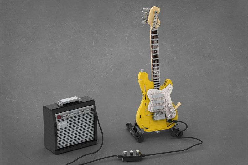 2020 LEGO IDEAS Fender Stratocaster Winner TOMOELL