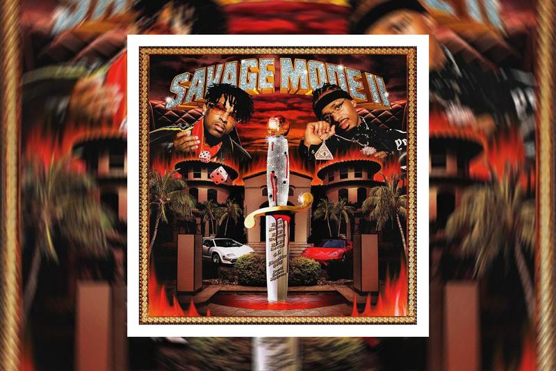 21 Savage Metro Boomin Savage Mode 2 album Stream morgan freeman