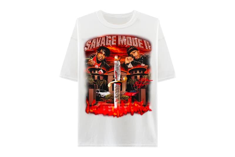 21 savage x metro boomin savage mode 2 merch hypebeast 21 savage x metro boomin savage mode 2