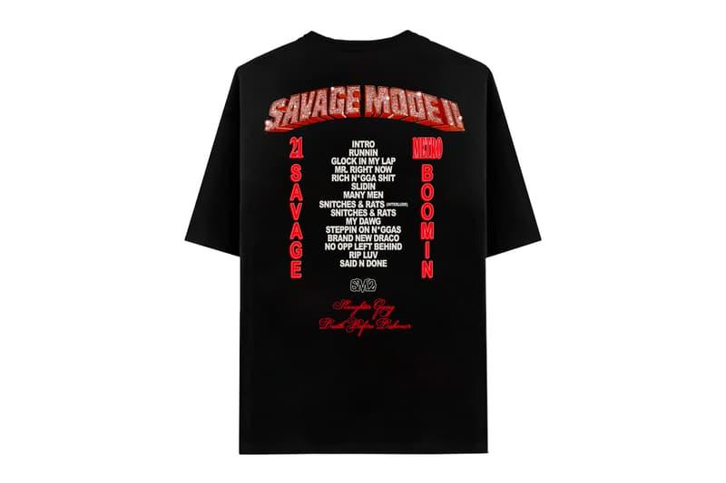 21 Savage Metro Boomin Savage Mode 2 Merchandise t shirts jackets vinyl coffee book keychain morgan freeman