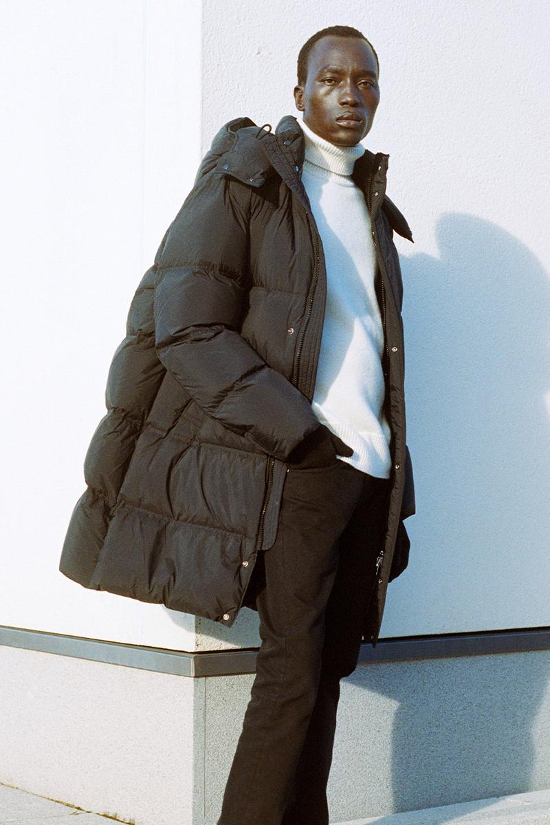 ARKET Upcycled Down Collection fall winter 2020 outerwear coats Swedish Scandinavian jackets