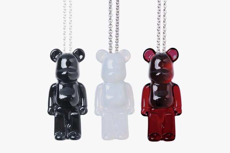 Baccarat x Medicom Toy Crystal BE@RBRICK Jewelry brooch pin necklace bijoux glass collaboration collection red white black earring