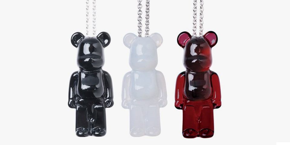 Baccarat's Latest BE@RBRICK Collab Yields Classy Crystalline Jewelry