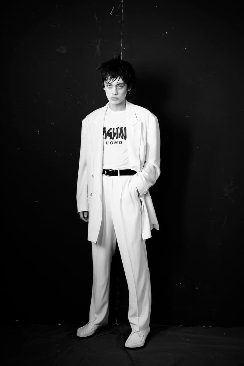 "Luca Magliano Fall Winter 2020 FW20 ""Mediterranean Goth"" Collection Lookbook LGBTQ+ Underground Scene Milano Men's Fashion Week Vogue Who's on Next"