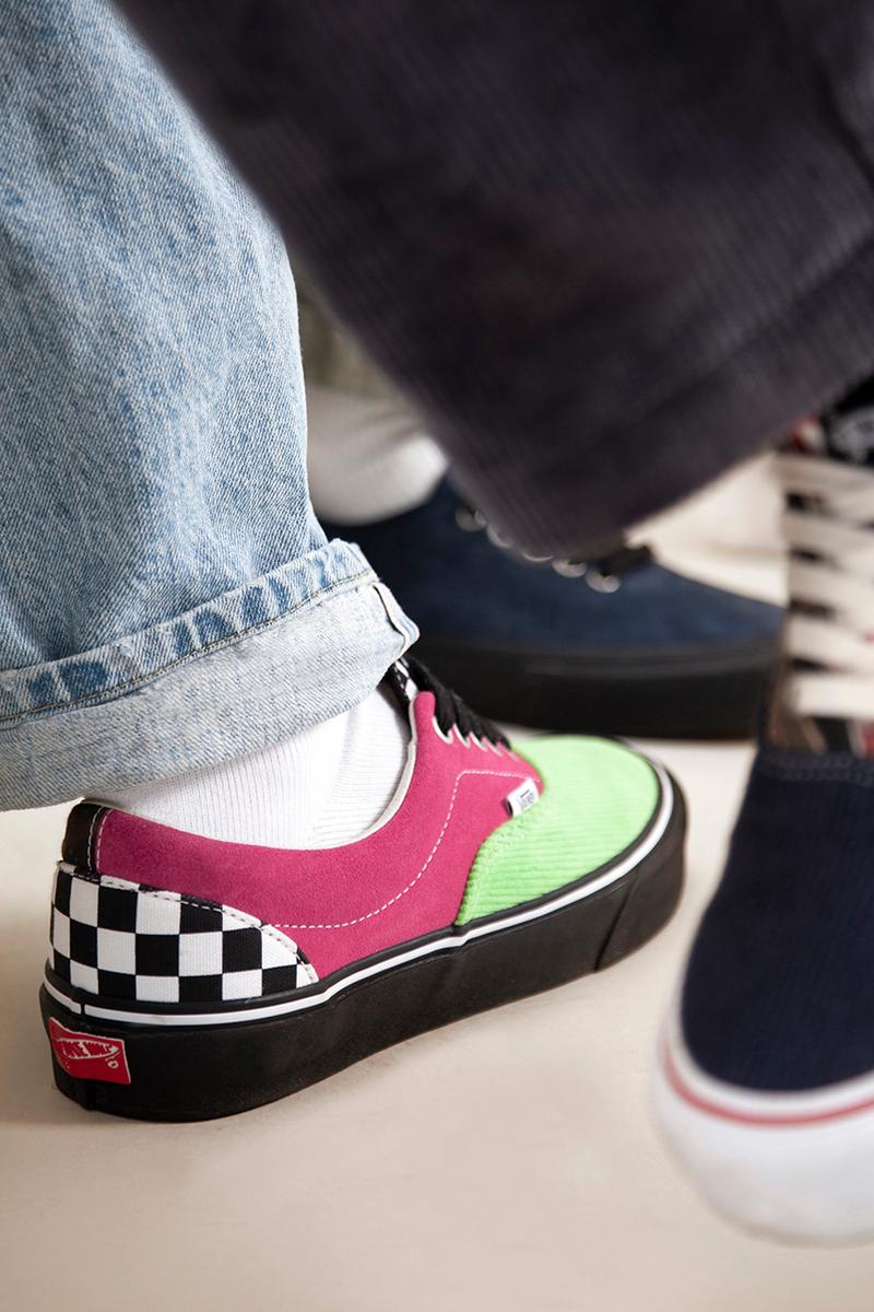 NOAH Vans Authentic OG Era LX 2020 Collaboration Release Info Closer Look Drop Date Sneaker Skateboarding Multicolored Brendon Babenzien Van Doren Rubber Company So Cal