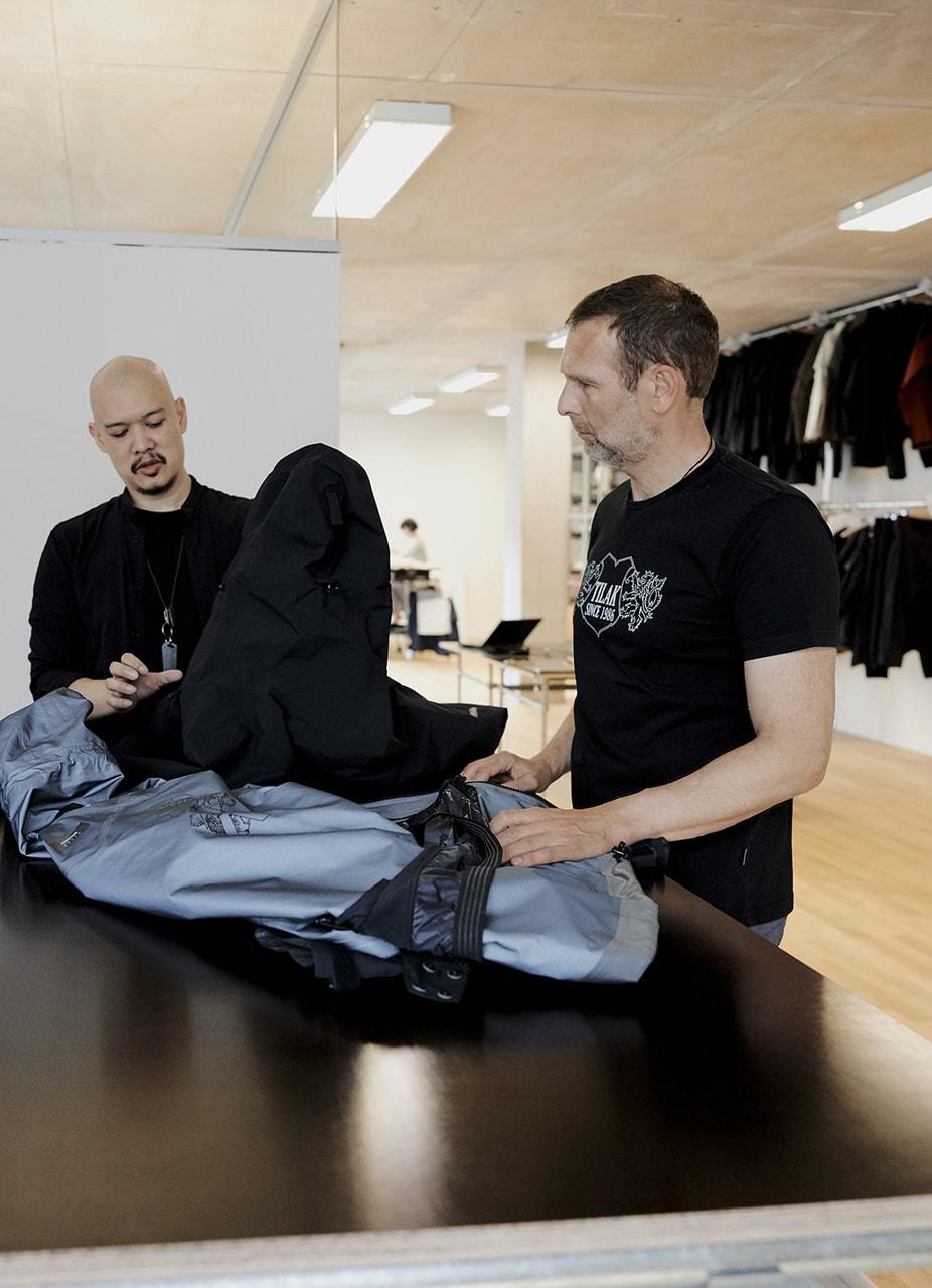 ACRONYM x Tilak 20th Anniversary Evolution Jacket gore tex pro lining errolson hugh collaboration collection release date info buy