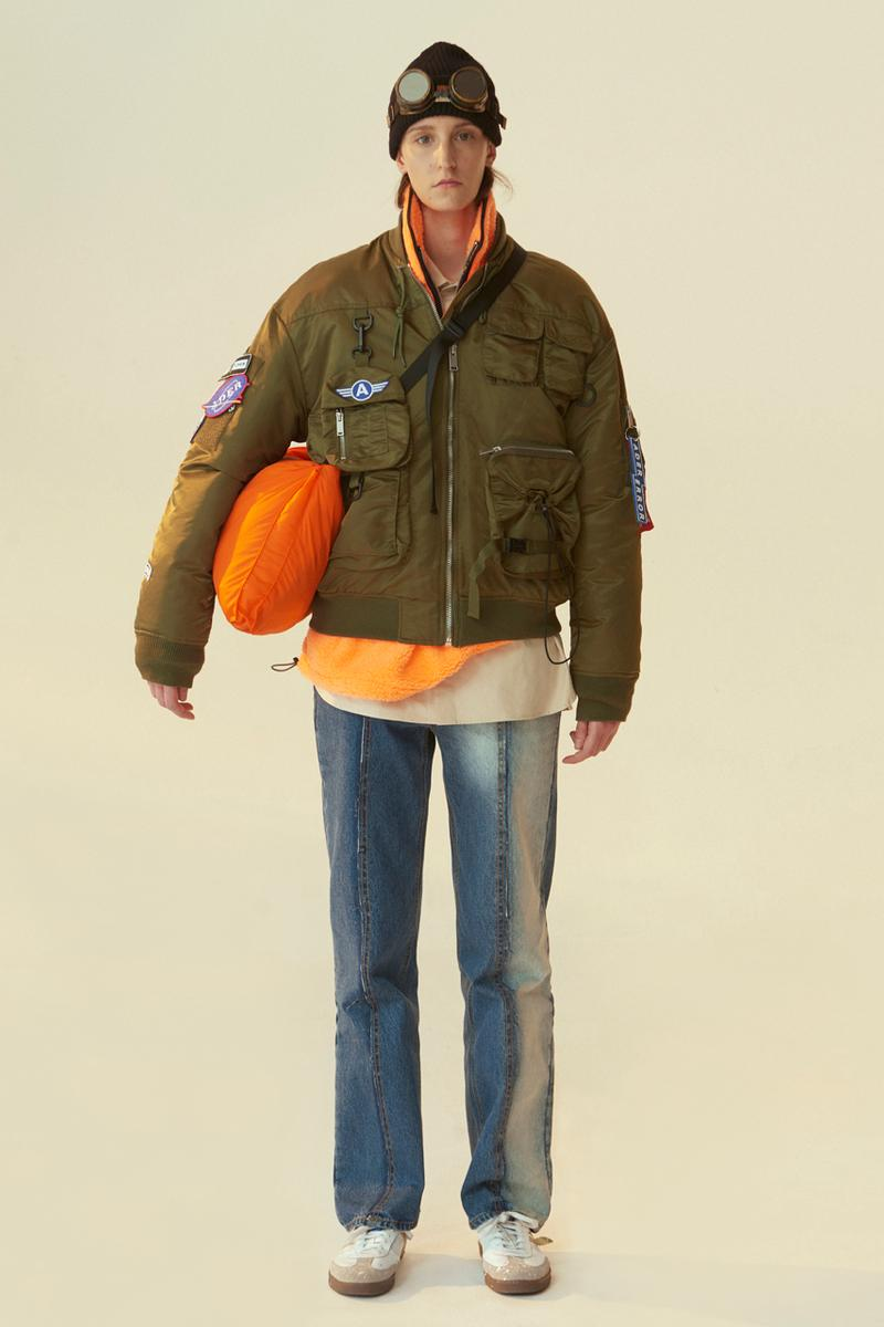ADER error x Alpha Industries Fall/Winter 2020 Collaboration Capsule Collection MA-1 Jacket M-65 2 Piece Mens Womens Unisex Coats Seasonal FW20 Outerwear Fishtail Jackets