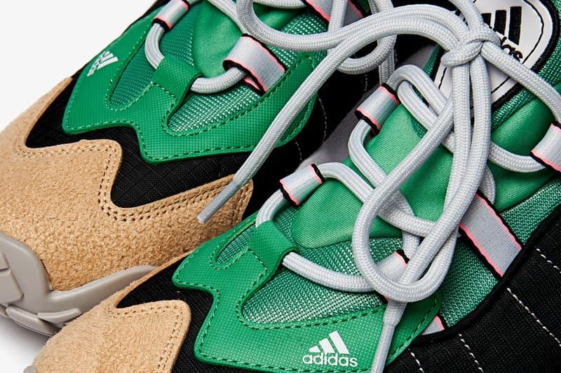 adidas Consortium FYW Secant FZ0432 FW6361 HYPER POP/HYPER POP/DASH GREY SEMI FROZEN YELLOW/CLEAR ONIX/LIGHT BLUE Sneaker Release Information Drop Date Freddy Logo Three Stripes EQT Trefoil Classic Chunky Shoes Trainer Footwear Trend Retro Fall Winter 2020 FW20