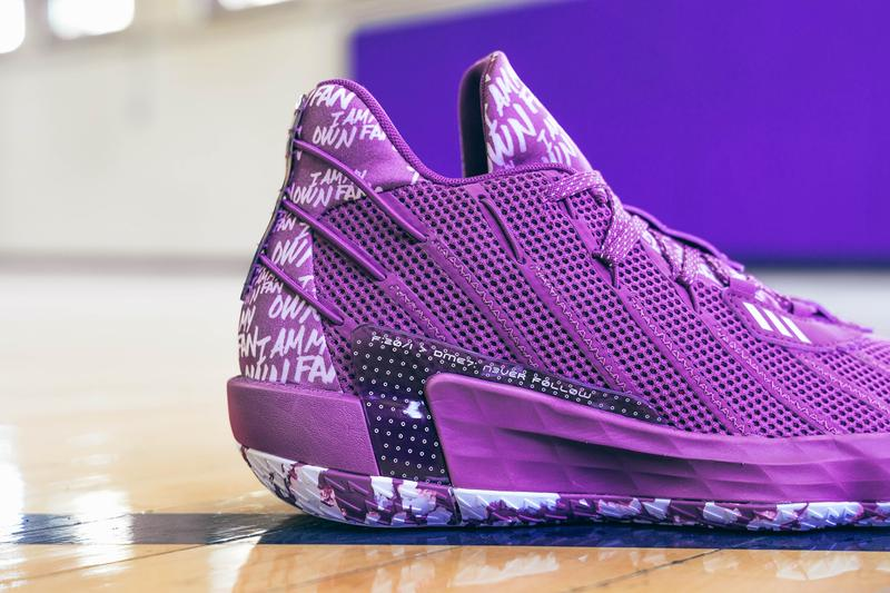 adidas basketball damian lillard dame 7 i am my own fan pack purple navy blue white black red volt lime green FX6615 FY0158 FY0160 FY0161 FY0162 FY0159 official release date info photos price store list buying guide