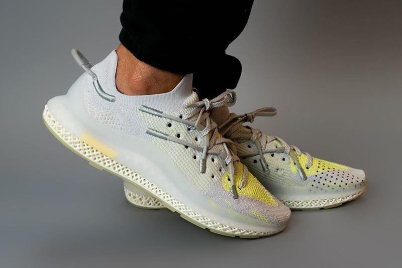 adidas iim 4d futurecraft sneaker gray fy3603 yellow sample official release date info photos price store list buying guide