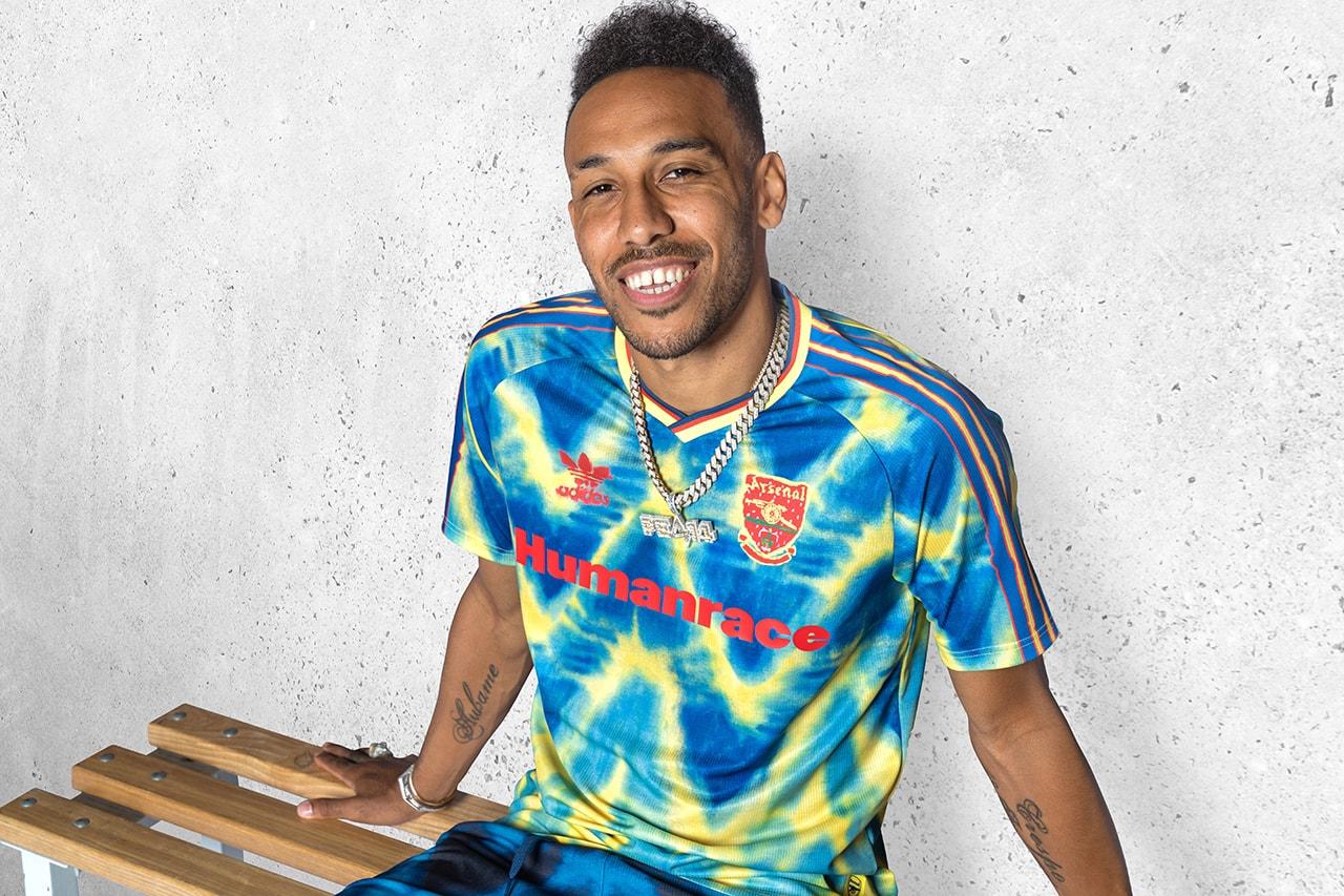 adidas football pharrell williams humanrace arsenal manchester united real madrid juventus romance fc bayern munich jerseys details kit soccer information