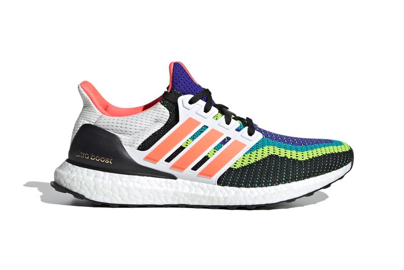 adidas running ultraboost 20 dna multicolor fv8332 fv8331 eg5923 fw8709 fw8710 fw8711 purple red blue black white official release date info photos price store list buying guide