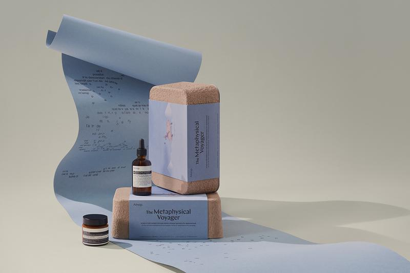 aesop skincare fragrance sensory chronicles 2020 gift sets christmas travel information literature
