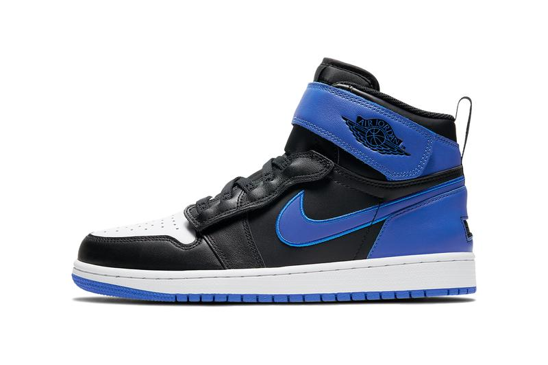 air jordan brand 1 flyease black white hyper royal CQ3835 041 official release date info photos price store list buying guide