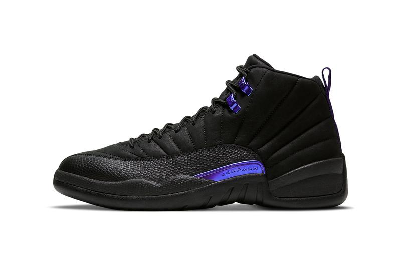 air jordan brand 12 dark concord black purple CT8013 005 official release date info photos price store list buying guide