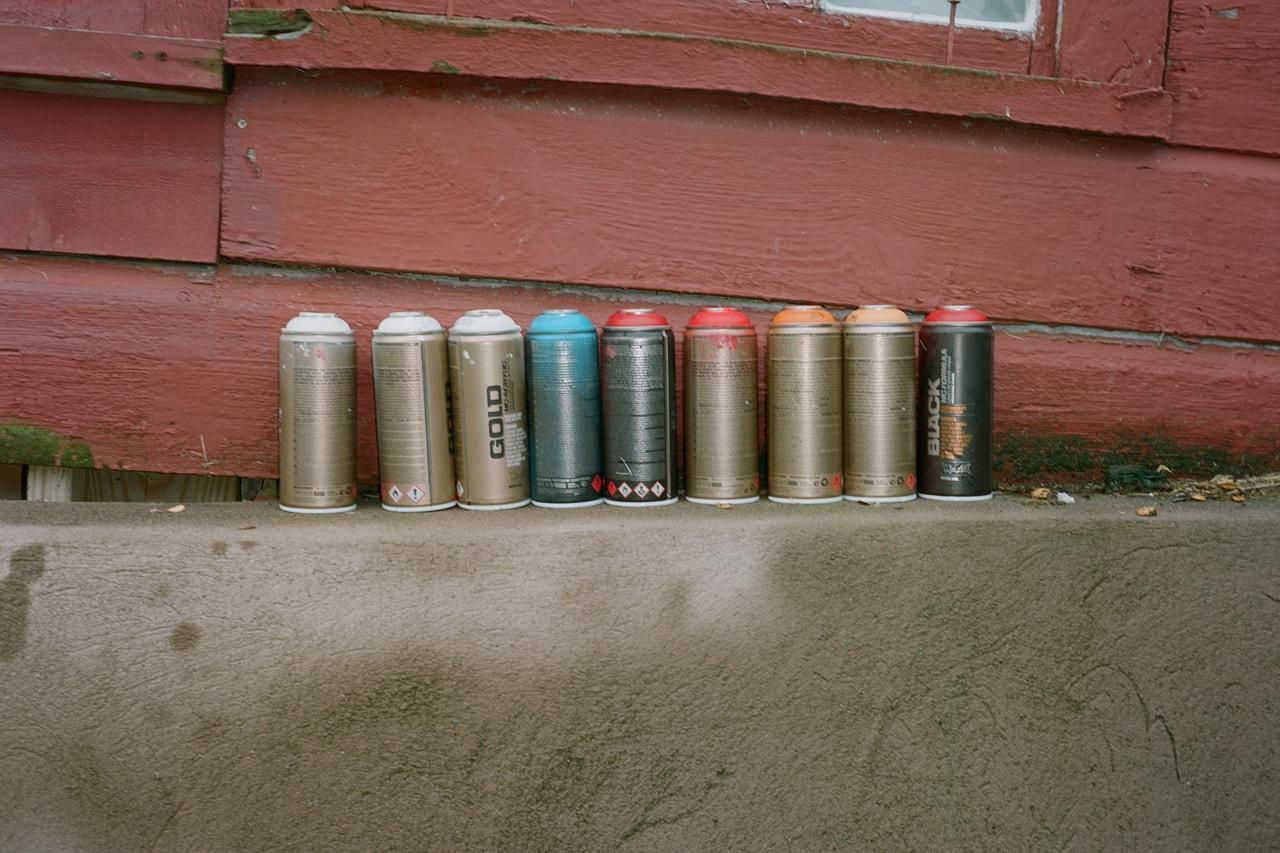 Crisp Apple Unfiltered flavor leading cider spray technique artist mural