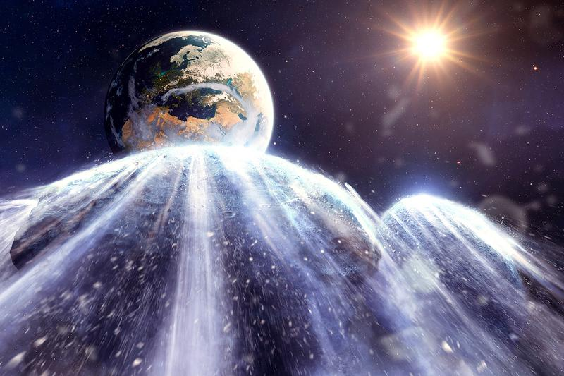 """A 300-Meter Long, Metal-PackedApophis"""" Asteroid Is Speeding Towards Earth God of Chaos space disaster apocalypse doomsday extinct bunker Earth Asteroid Dinosaurs"""