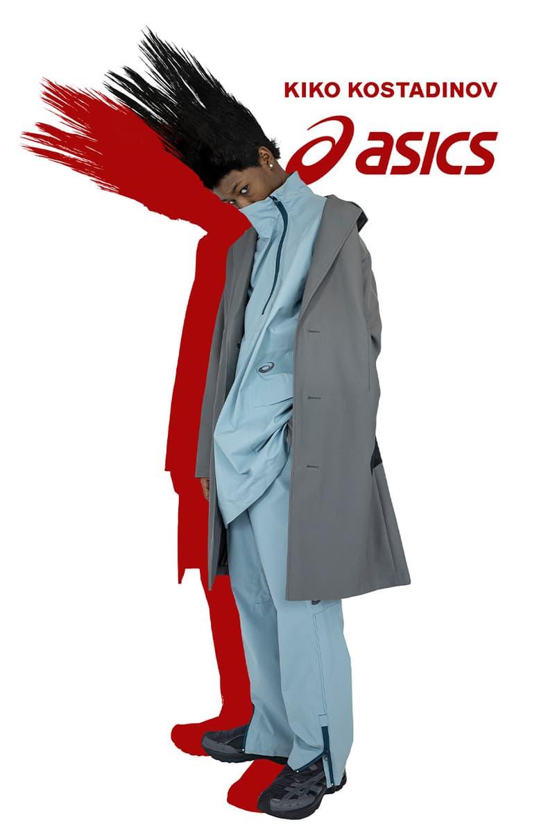 Asics Kiko Kostadinov gel-kiril 2 release information collaboration sneaker where does it drop