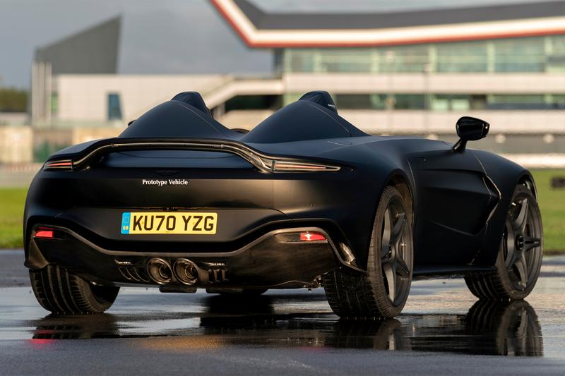 aston martin v12 speedster prototype unveil 700 horsepower dbs superleggera vantage