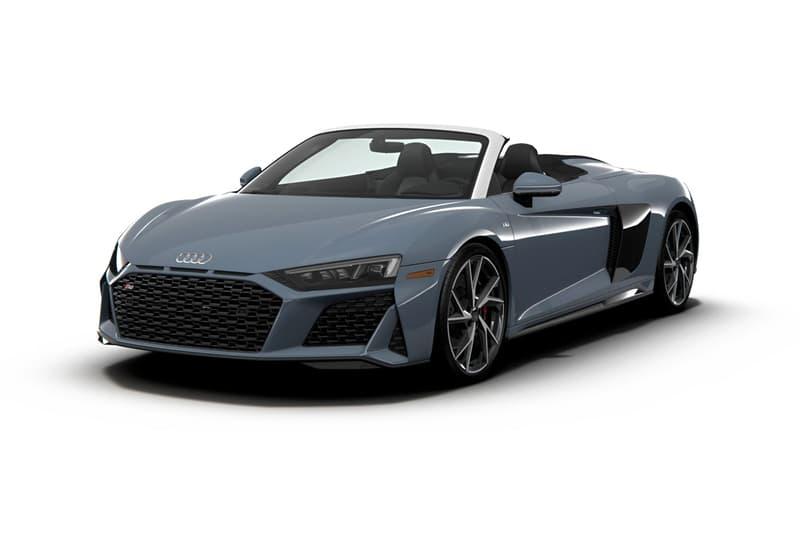 Audi R8 V10 RWD USA Market News Supercars AWD Quattro R8-LMS racing car-inspired horsepower