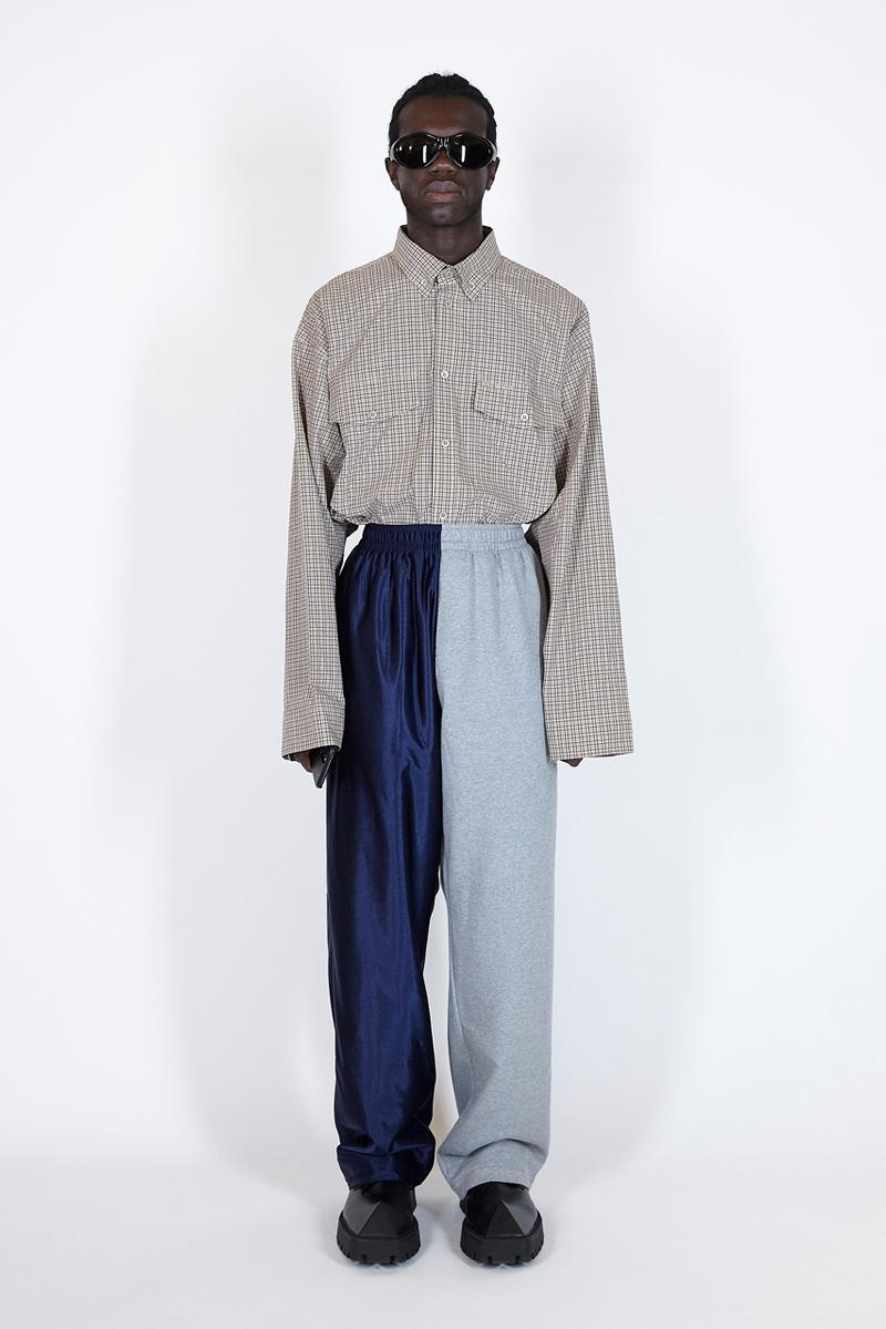 Balenciaga Summer 2021 Pre-Collection Runway Mens Womens Unisex X-Pander Sneaker Homeware Loungewear Robes Sustainability Upcycling Eco Friendly Prints Pet Shop Graphics Sunglasses at Night Paris Walking Demna Gvasalia Neo Classic Bag