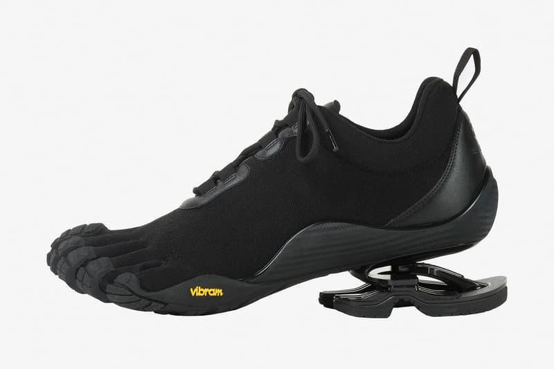 Balenciaga Vibram Toe FiveFingers footwear Collection drop info luxury carmine red black high tech