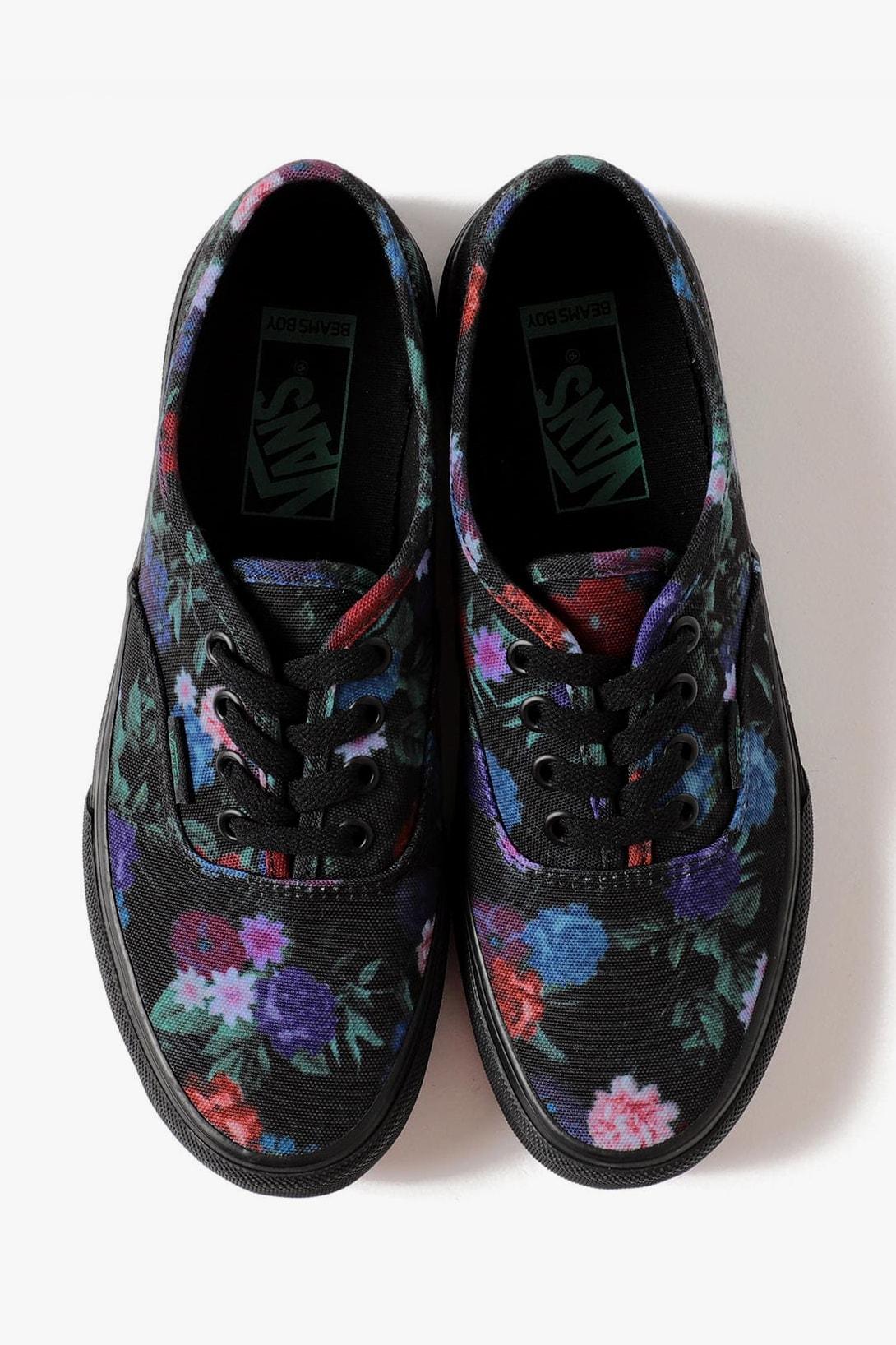 BEAMS BOY x Vans, Gregory Sneaker, Fleece, Bag Collaboration fall winter 2020 fw20 release date info buy authentic dark garden