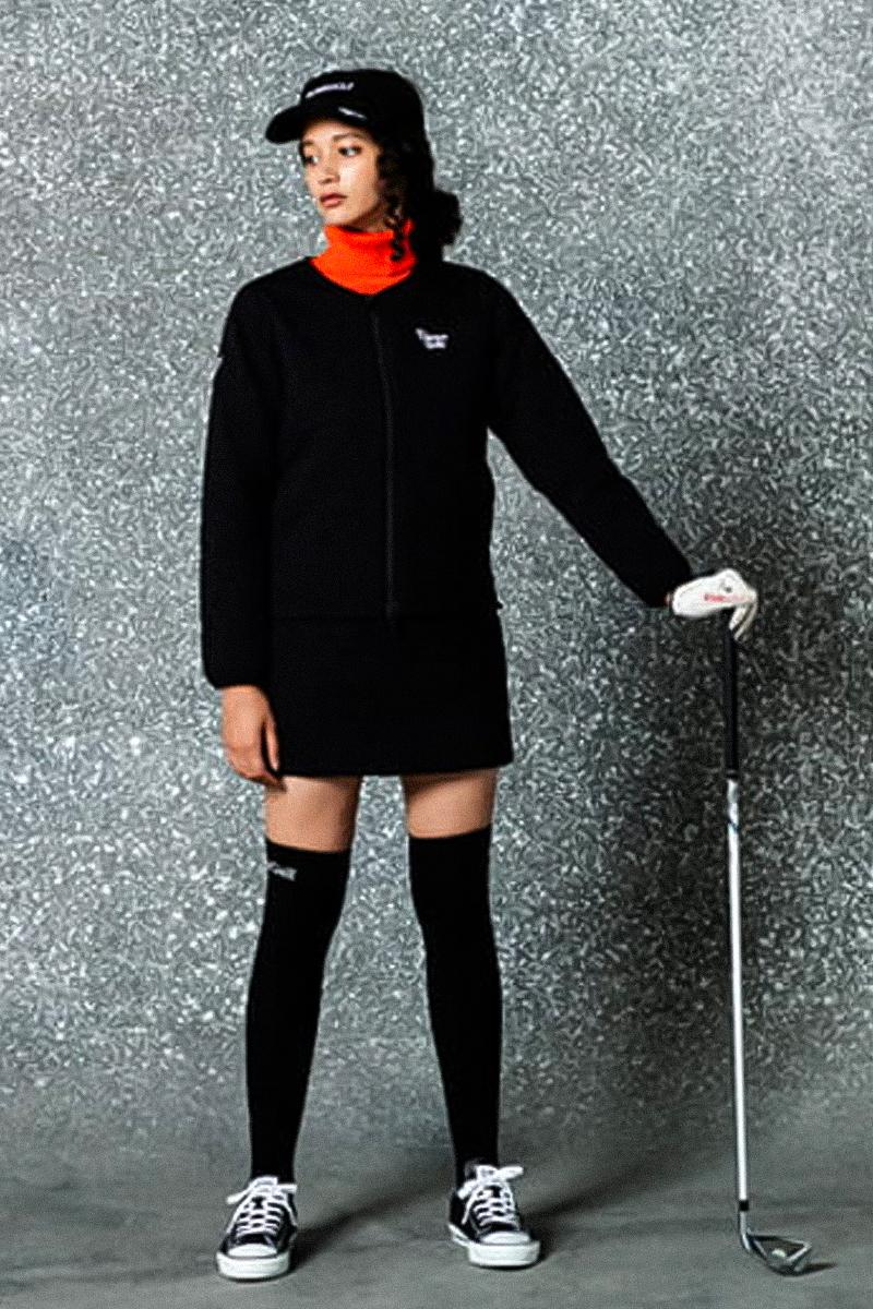 BEAMS GOLF Orange Label Space Winter 2021 Lookbook speckled marble minimal athletic leisure jackets pants sweaters coats pants trousers collection