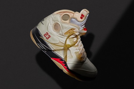 """The Long-Awaited Arrival of Off-White™'s Air Jordan 5 """"Sail"""" Leads This Week's Best Footwear Drops"""