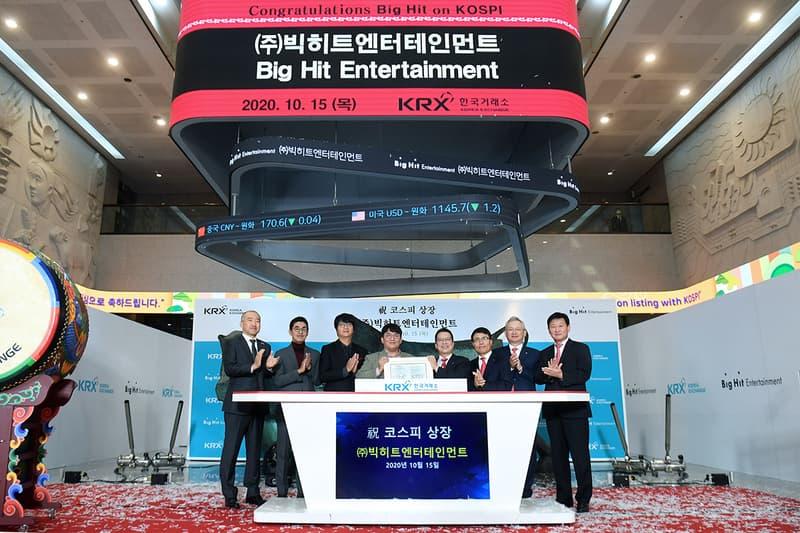 big hit entertainment bts kpop ipo initial public offering finance stock share price plummet
