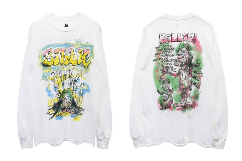 Billie Eilish x READYMADE T-Shirts Merch ed roth artwork collaboration fall winter 2020 release date info buy anytime japan store time after time hot rod rat fink
