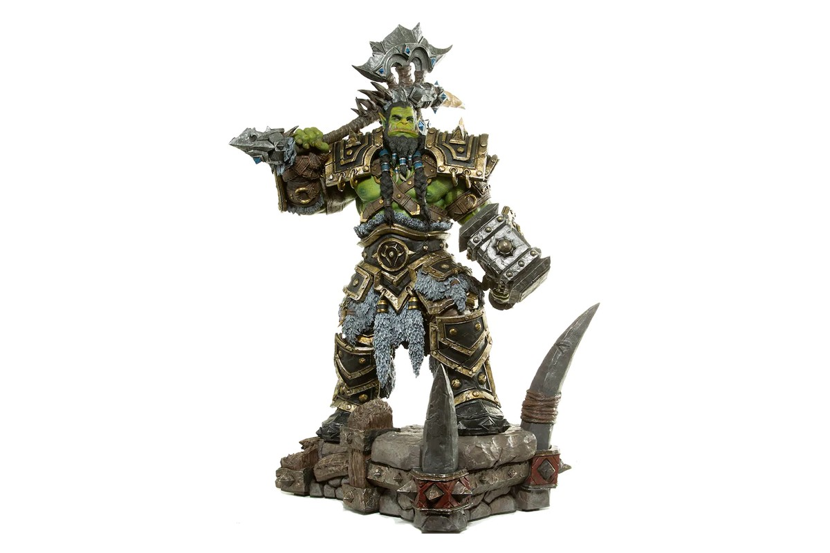 Blizzard Immortalizes Horde Warchief Thrall With a 24-Inch Statue
