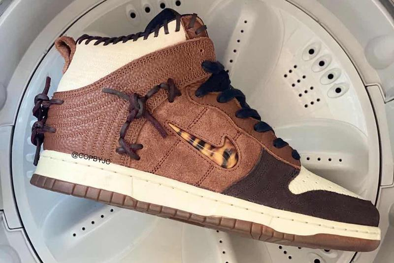 bodega nike sportswear dunk high fauna brown sail velvet rustic birch CZ8125 100 200 official release date info photos price store list buying guide
